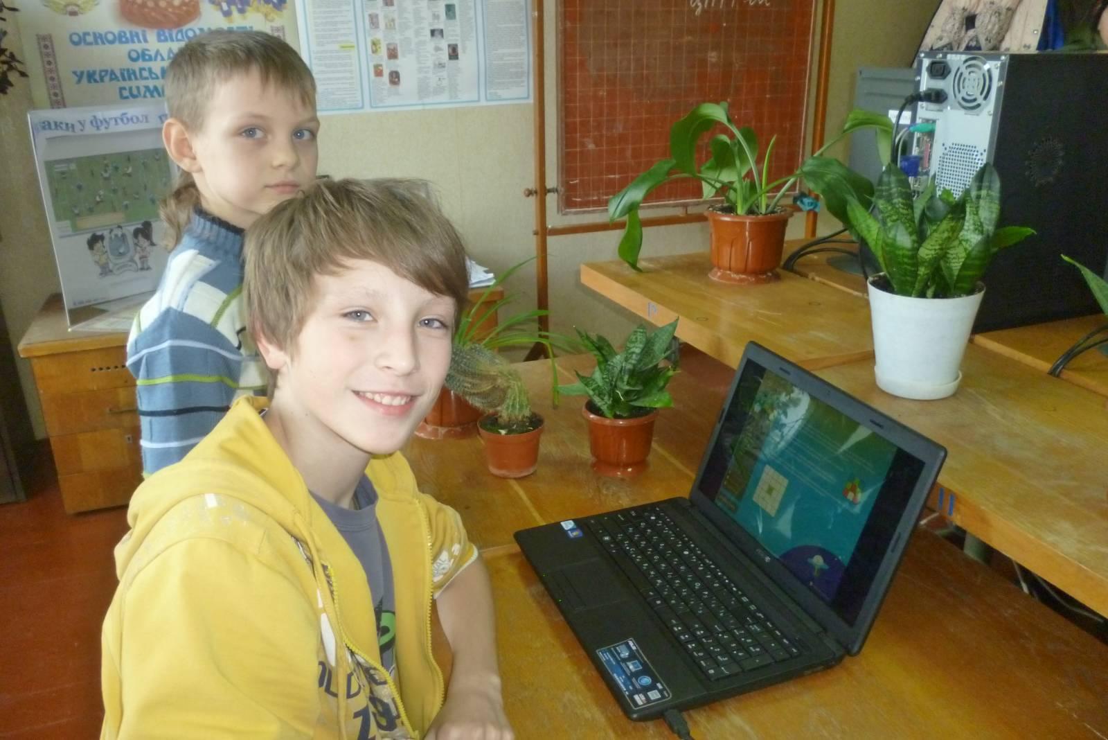юні інформатики Бондар Ярослав, Литвішко Даниїл