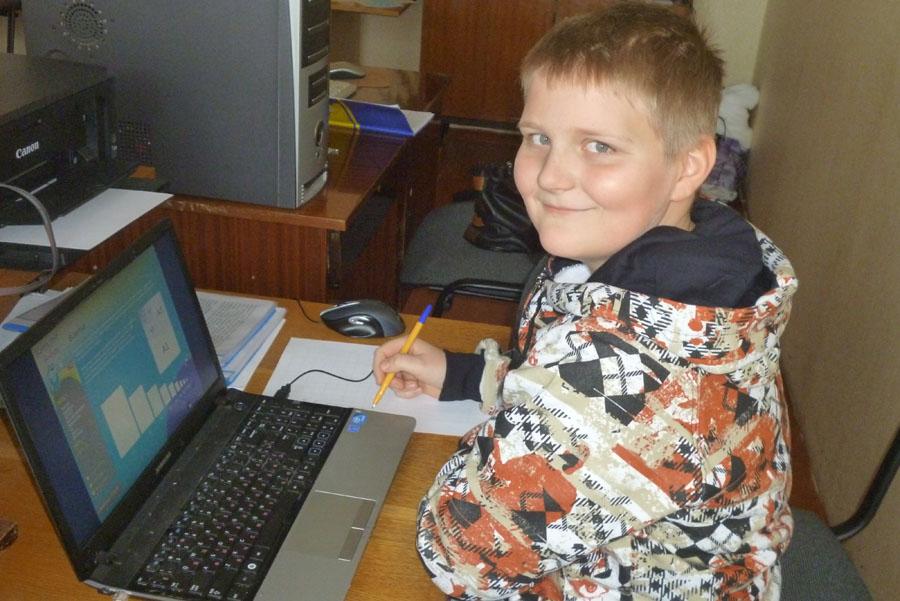 юний інформатик Литвішко Антон